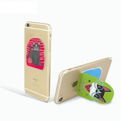 magic reusable and washable Phone sticker stands h...