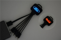 LED Light Charging cable 5in1